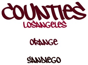Los Angeles Orange San Diego Counties 4