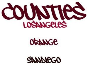 Los Angeles Orange San Diego Counties 4